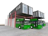 Seoul Bus HQ (서울시내버스 차량기지 본부) - 기본안