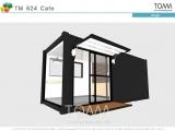 TM 624 Mini Cafe (수출용 컨테이너를 활용한 소형 카페)